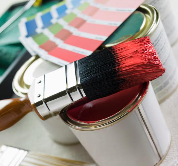 Painting Secret when buying paint & supplies for a project.