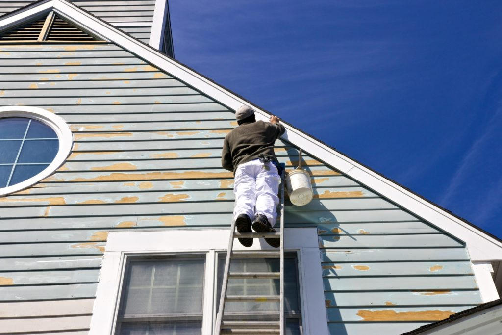 Repaint home Exterior