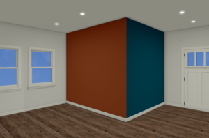 paint accent wall
